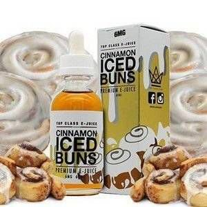 E-Liquid Cinnamon Iced Buns Top Class e-Juice