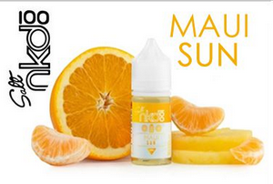 Líquido Nic Salt Naked 100 SALT NICOTINE - Maui Sun