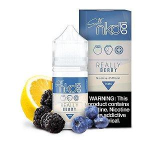 LÍQUIDO NIC SALT NAKED 100 SALT NICOTINE - REALLY BERRY