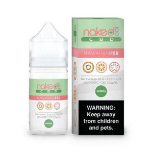 E-Liquid CBD - HAWAIIANPOG - NAKED 100