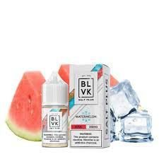 E-Liquid BLVK SALT PLUS - WATERMELON
