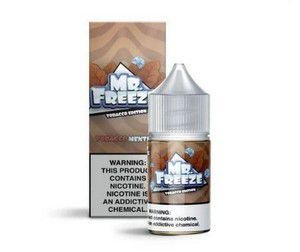 LÍQUIDO NIC SALT - MR. FREEZE - TOBACCO EDITION - TOBACCO MENTHOL