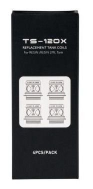 RESISTÊNCIA / COIL TS-120X P/ TANK RESIN (PUNK 220W KIT) - TESLA