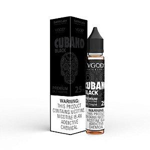 LÍQUIDO SALT NICOTINE VGOD - CUBANO BLACKL