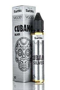 Essência Salt Cubano Silver Bold Creamy Cigar 30ML - VGOD