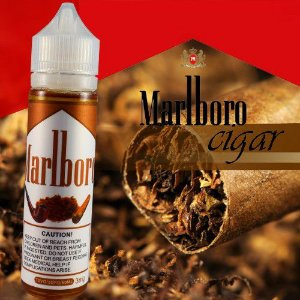 Liquido marlboro tabacco cigar e-juice