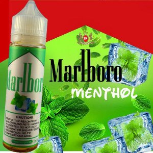 Liquido marlboro tabacco  cool mint e-juices