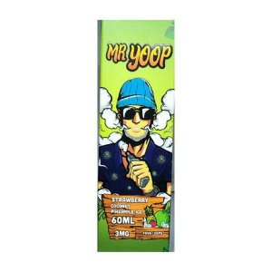 Líquido Strawberry coconut pineapple ice  - Mr. Yoop Salt Nic