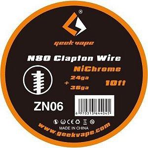 FIO CLAPTON WIRE  ZN06 - ZN07 - GEEK VAPE