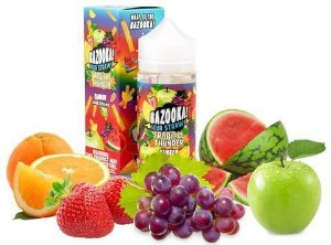E-Liquid Bazooka Sour Straws - Tropical Thunder - Rainbow