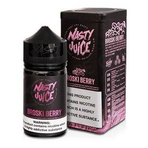 LÍQUIDO NASTY JUICE - BERRY SÉRIES - BROSKI BERRY