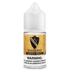 Liquido Nic Salt - Kings Crest - Don Juan Tabaco Dulce - 30ml