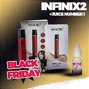 KIT INFINIX 2 SMOK + JUICE - *PROMOÇÃO BLACK FRIDAY*