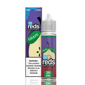 LÍQUIDO REDS APPLE EJUICE GRAPE - ICED