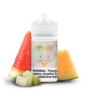 LÍQUIDO NIC SALT SALT NICOTINE ALL MELON - NAKED 100