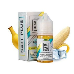 E-LIQUID BANANA SALT PLUS - BLVK
