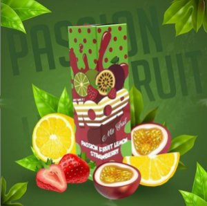 LÍQUIDO MIX FRUIT PASSION FRUIT LEMON STRAWBERRY - YOOP