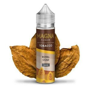 LÍQUIDO FREEBASE ROYAL GOLD TOOBACCO - MAGNA