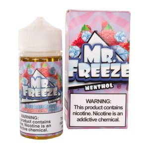 LÍQUIDO MR. FREEZE - BLUE RASPBERRY STRAWBERRY FROST