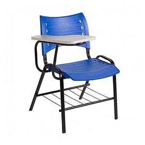 Cadeira universitaria em polipropileno