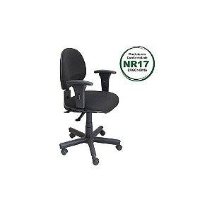 Cadeira secretária back sistem