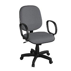 Cadeira Diretor Estofada com braços fixo