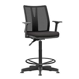 Cadeira Caixa Braços e Encosto regulável