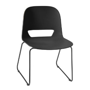 Cadeira fixa kind preta