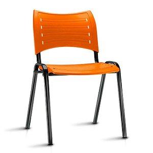 Cadeira Iso Fixa Polipropileno Laranja
