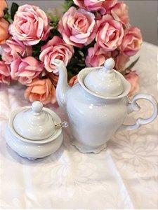Cafeteira Pomerode e Açucareiro Pomerode