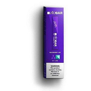 Pod Descartável - Blueberry Ice - 5% - 300 Puff - NikBar