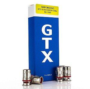 Bobina Coil (Reposição) - GTX POD - 0.15 ohm - Vaporesso