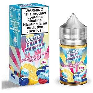 Líquido Nicsalt - Blueberry Raspberry Lemon Ice Frozen Fruit Monster - 30ml
