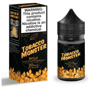 Líquido Nicsalt - Bold Tobacco Monster - 30ml