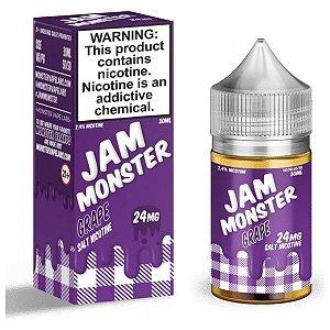 Líquido Nicsalt - Grape Jam Monster Monster - 30ml