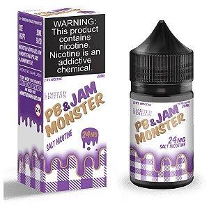Líquido Nicsalt - Grape PB e Jam Monster - 30ml