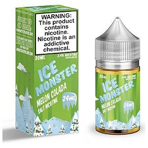 Líquido Nicsalt - Melon Colada Ice Monster - 30ml