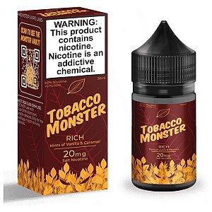 Líquido Nicsalt - Rich Tobacco Monster - 30ml