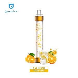 Pod Descartável - VFUN - Led Flash Edition - Orange Soda - 1000 Puff - QUAWINS