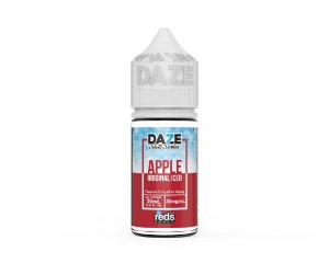 Liquido Nicsalt - ICED Apple Original - Red's Apple E-Juice - 7 Daze SALT - 30mL