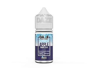 Liquido Nicsalt - ICED Grape - Red's Apple E-Juice - 7 Daze SALT - 30mL