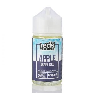 ICED Grape - Red's Apple E-Juice - 7 Daze - 60mL