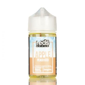 ICED Peach - Red's Apple E-Juice - 7 Daze - 60mL