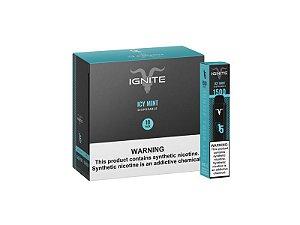 Pod Descartável – Icy Mint – V15 – 1500 Puff – Ignite