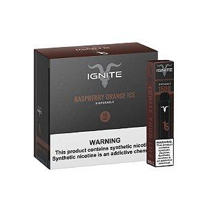 Pod Descartável – Raspberry Orange Ice – V15 – 1500 Puff – Ignite