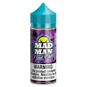 Crazy Blackberry Ice - Iced Out - Mad Man - 100ml