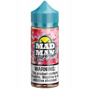 Crazy Strawberry Ice - Iced Out - Mad Man - 100ml