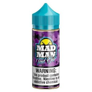 Crazy Grape Ice - Iced Out - Mad Man - 100ml