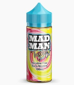 Twisted Lemon Strawberry - Iced Out - Mad Man - 100ml