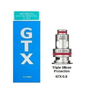 Bobina Coil (Reposição) - GTX POD - Triple Silicon Protection - 0.8 ohm - Vaporesso